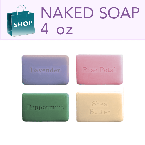 Soap Bars 4 oz Naked