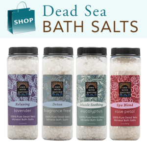 100% Pure Dead Sea Mineral Salts