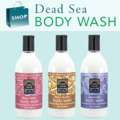 Body Wash with Dead Sea Minerals & Shea