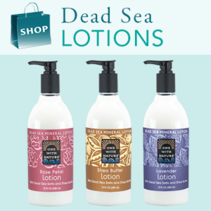 Hand & Body Lotion with Dead Sea Minerals & Shea